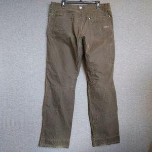 Kuhl Revolvr Mens Pants38 X 35 Vintage Patina Dye